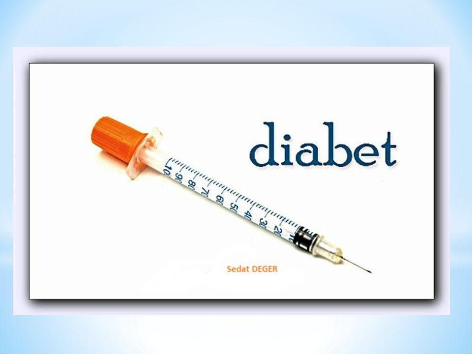 Vücutta insülin olmayınca besinler yoluyla aldığımız şeker ve diğer besin ögeleri ihtiyaç duyan hücrelere giremez.