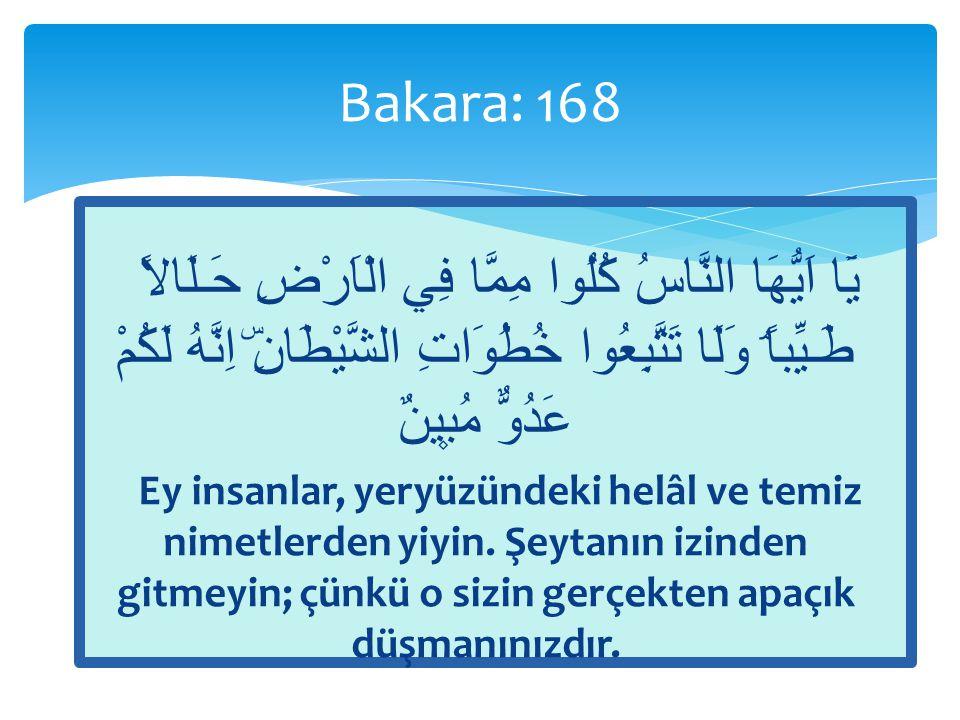  Ey insanlar, Allah'tan korkun ve güzellikle talepte bulunun (rızkınızı güzel yoldan isteyin).