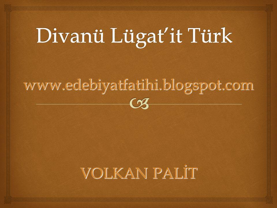 www.edebiyatfatihi.blogspot.com VOLKAN PALİT