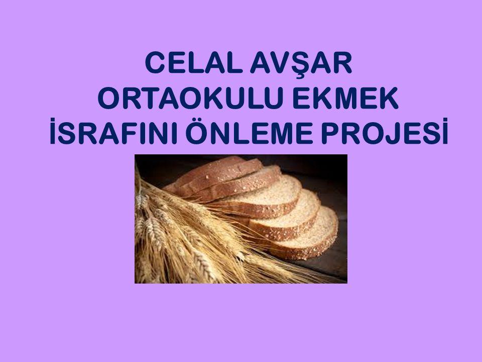 Ekmek tüm dünyada insanların en temel besin kaynağı, Türk toplumunun da kutsal değerlerinden birisi ve sofralarımızın baş tacıdır Ekmek tüm dünyada insanların en temel besin kaynağı, Türk toplumunun da kutsal değerlerinden birisi ve sofralarımızın baş tacıdır