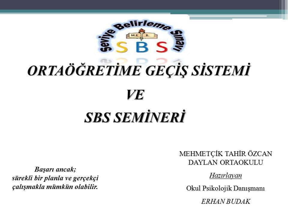 İçindekiler; OGES Nedir.SBS Nedir.