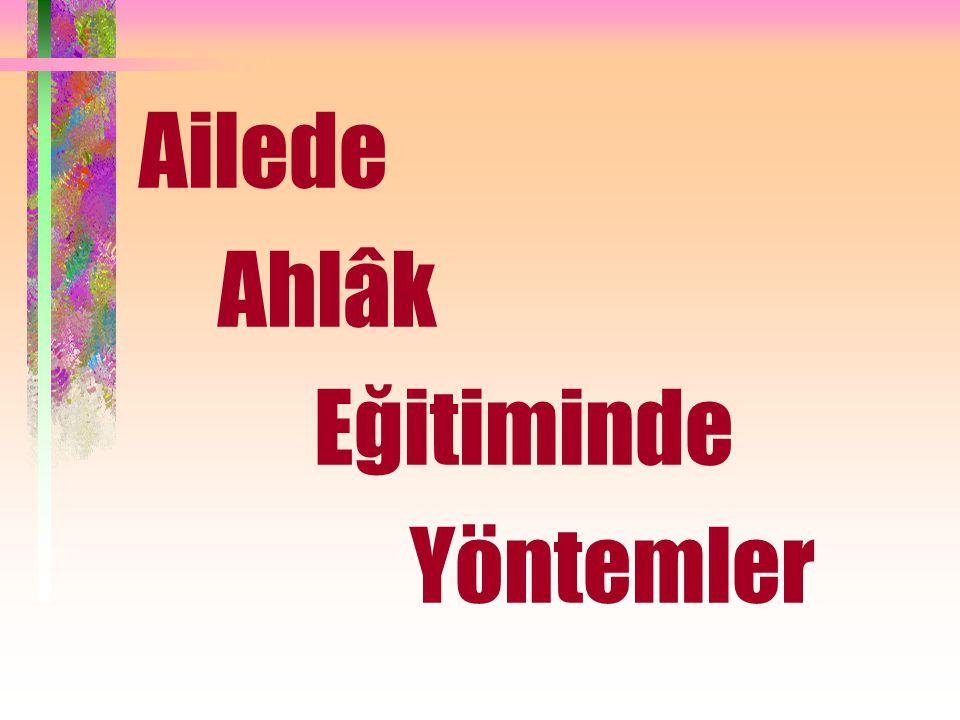 Allah (C.C) buyuruyor: قُوا أَنفُسَكُمْ وَأَهْلِيكُمْ نَارًا يَا أَيُّهَا الَّذِينَ آمَنُوا Ey inananlar.