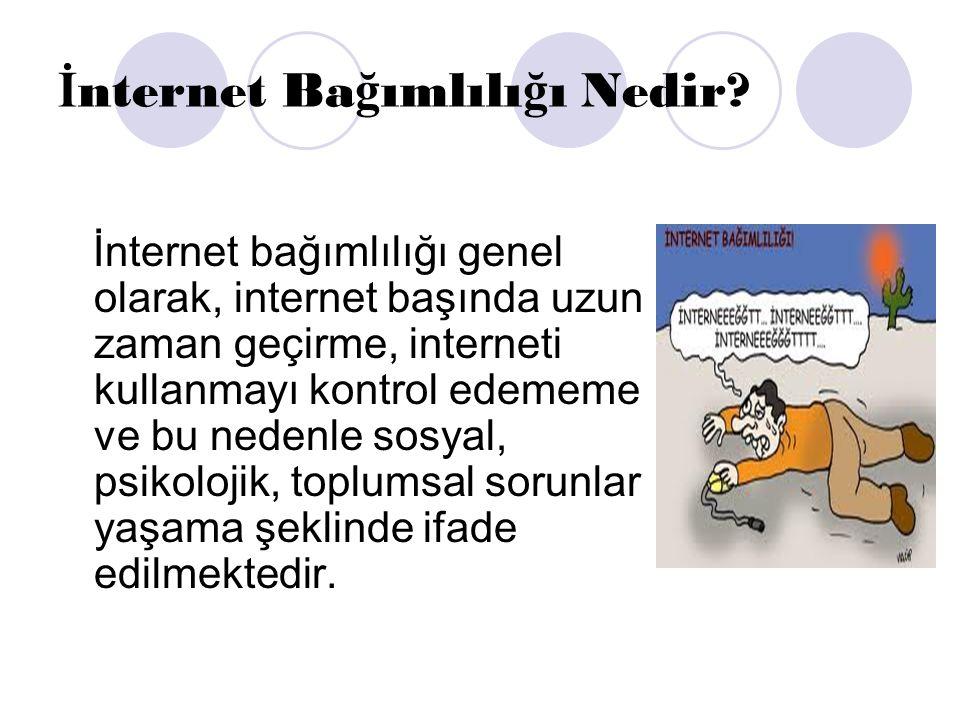 İ NTERNET İ N ZARARLARI NELERD İ R.