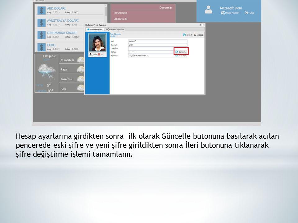 Şifre değiştirildikten sonra ana ekranda aşağıdaki gibi mouse ile Sicil Yönetimi üzerine getirilerek aşağıda ok ile gösterilen yere tıklanarak açılan pencereden İzin Talep bölümüne girilir.