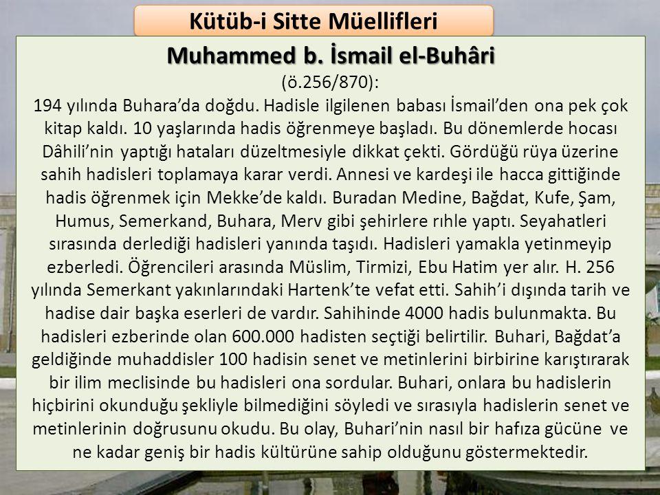 HADİS TARİHİNİN GELİŞİM AŞAMALARI Tesbitü's-Sünne (Hadis ve Sünnetin Tespit Edilmesi) Zaman olarak Hz. Peygamber ve sahabe dönemini içine alan h.1. yü