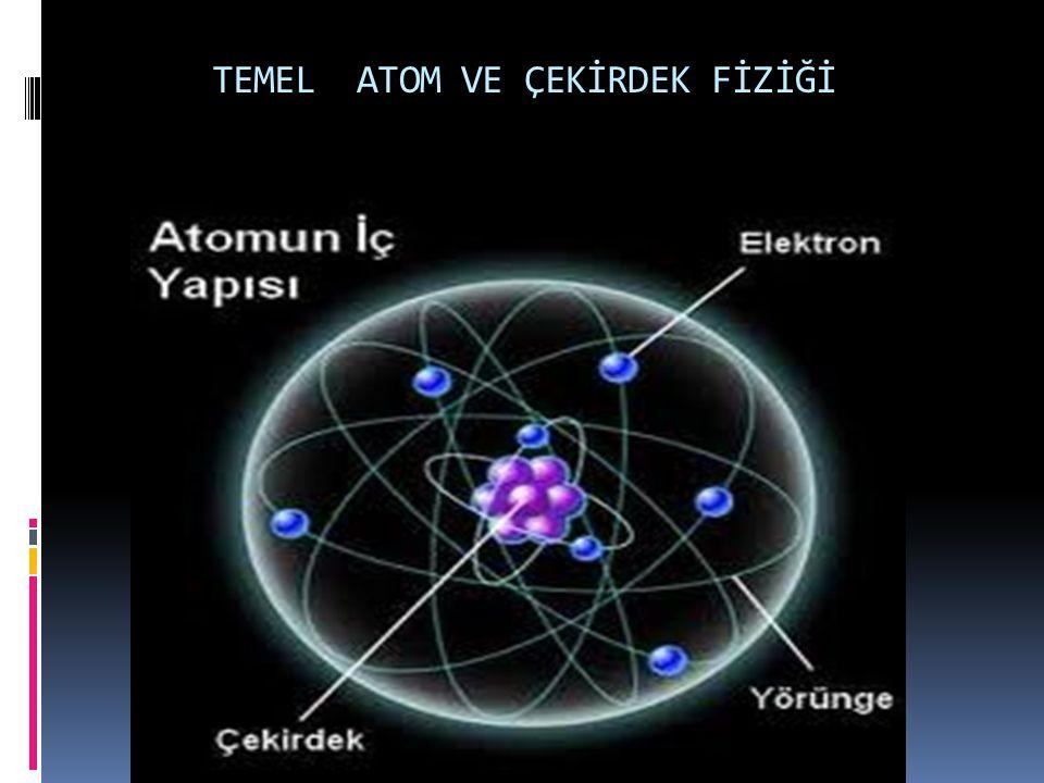  Atom; Maddenin, kimyasal değişimlerle bölünemeyen en küçük parçasıdır.