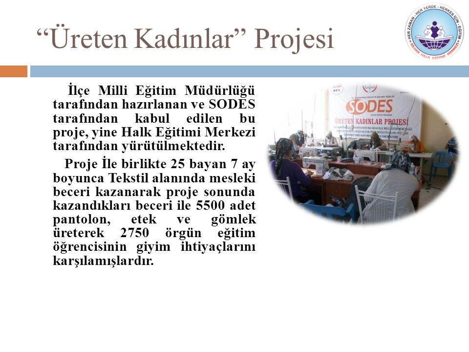 Karanlıktan Aydınlığa Projesi 256 kız, 58 erkek olmak üzere 314 öğrenci okula kazandırılmıştır.