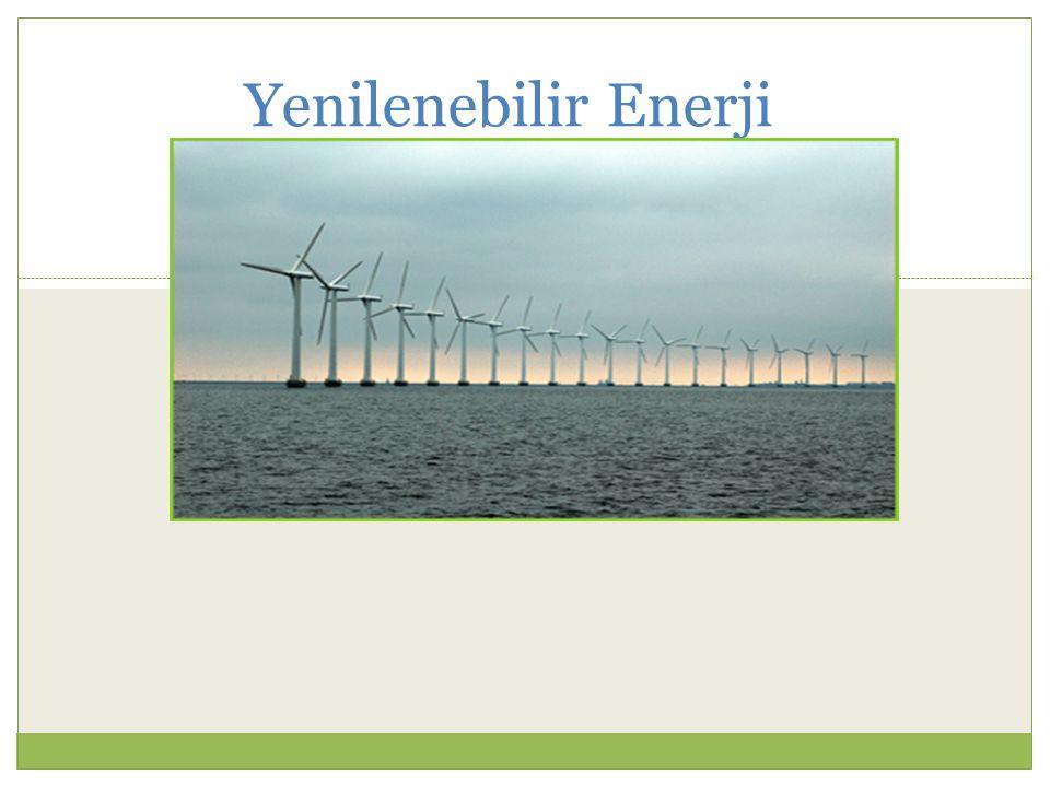 Üretilen Elektrik 1 rüzgar tribünü yılda 5 milyon kwa 500 hane
