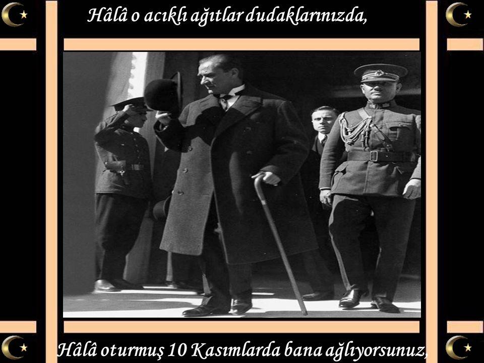 Mustafa Kemal'i anlamak avunmak değil, Mustafa Kemal ülküsü sadece söz değil