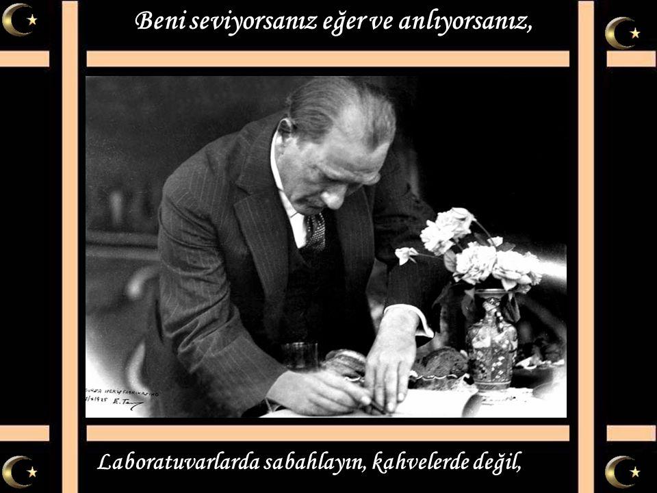 Mustafa Kemal'i anlamak göz boyamak değil, Mustafa Kemal ülküsü sadece söz değil