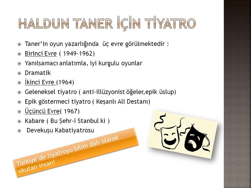  Zeki Alasya ve Metin Akpınar ile Devekuşu Kabare Tiyatrosu nu, Ahmet Gülhan ile Tef Tiyatro Grubu nu kurdu.