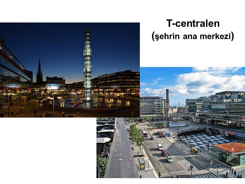 T-centralen ( şehrin ana merkezi )