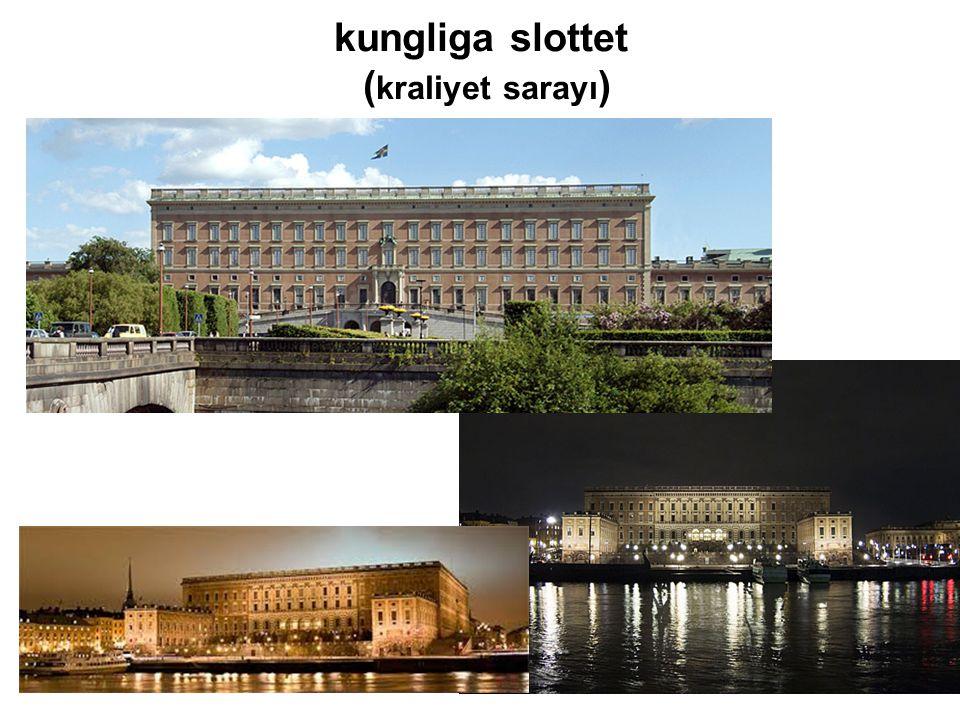 kungliga slottet ( kraliyet sarayı )