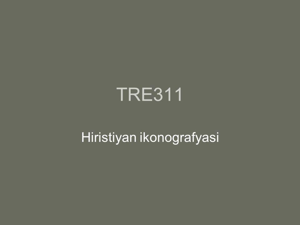 TRE311 Hiristiyan ikonografyasi