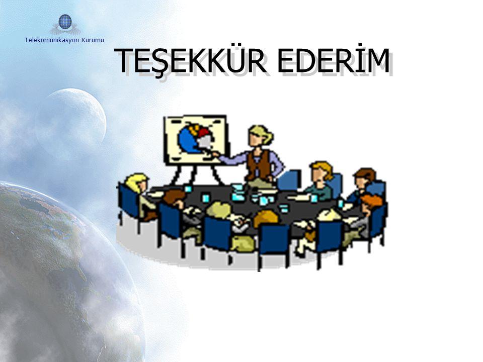 Telekomünikasyon Kurumu  Geçişte en önemli adım eğitimdir. Eğitim Faaliyetleri desteklenmeli ve kamuoyunda bilinçlendirme kampanyaları desteklenmeli