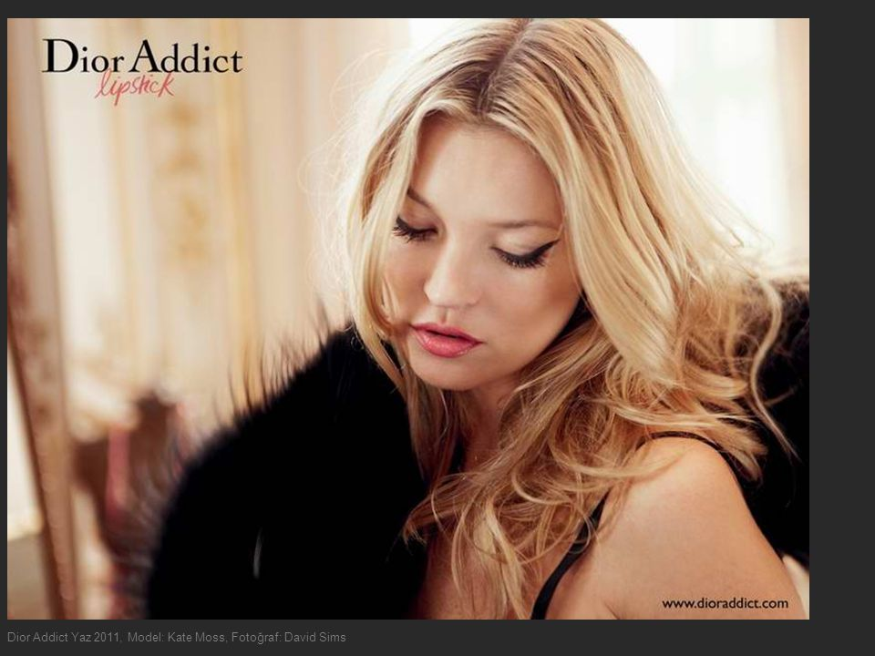 Dior Addict Yaz 2011, Model: Kate Moss, Fotoğraf: David Sims