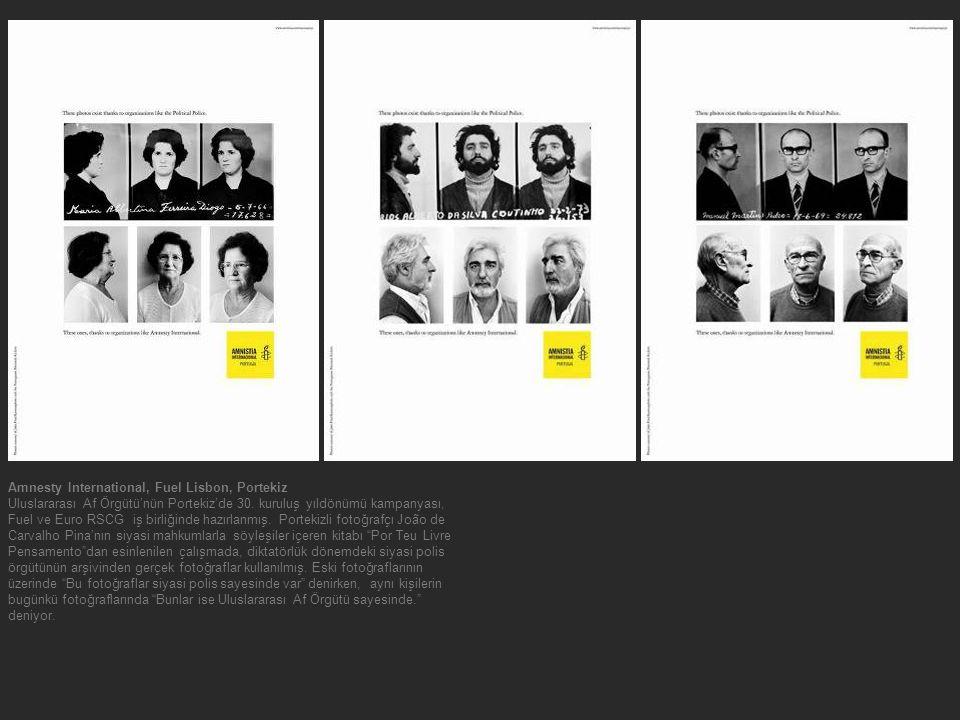 Amnesty International, Fuel Lisbon, Portekiz Uluslararası Af Örgütü'nün Portekiz'de 30. kuruluş yıldönümü kampanyası, Fuel ve Euro RSCG iş birliğinde