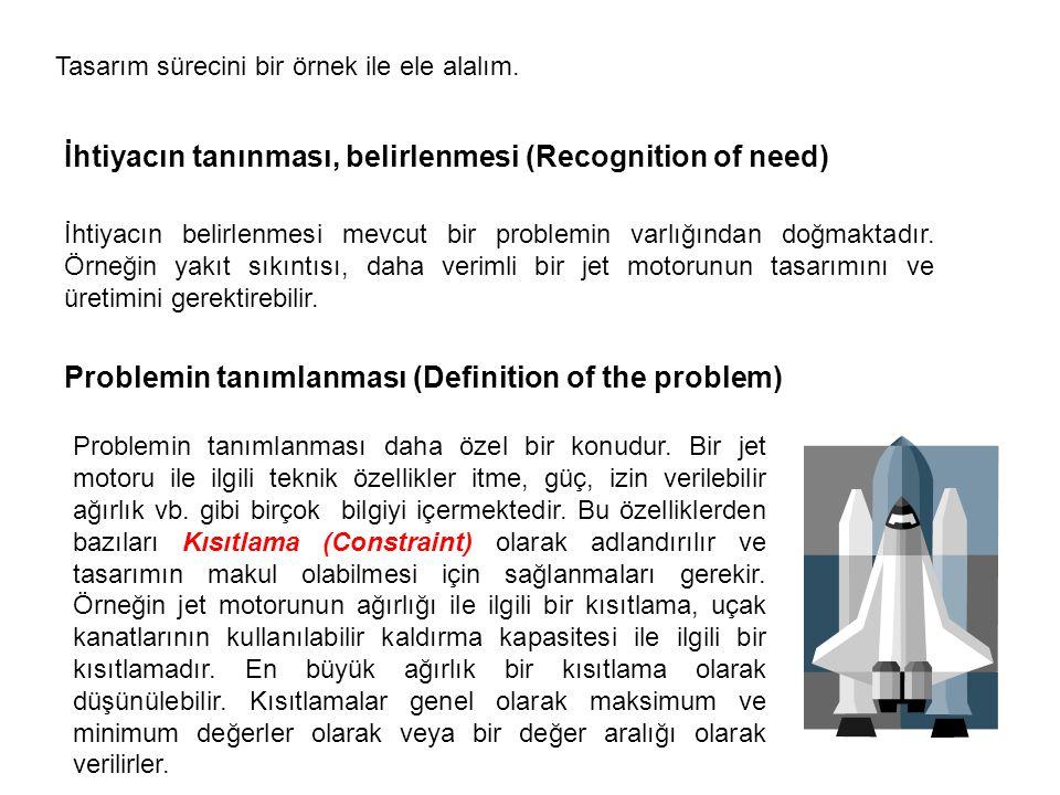 Ele alınan problem ile ilgili bazı özellikler ise kriter (criteria) olarak adlandırılır.
