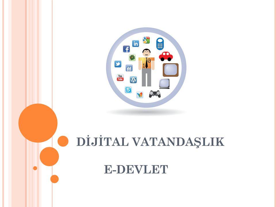 DİJİTAL VATANDAŞLIĞIN BOYUTLARI 3- Dijital İletişim: İletişim biçimlerinin değişikliğe uğrayarak elektronik araçlar vasıtasıyla da yapıldığının farkında olmadır.