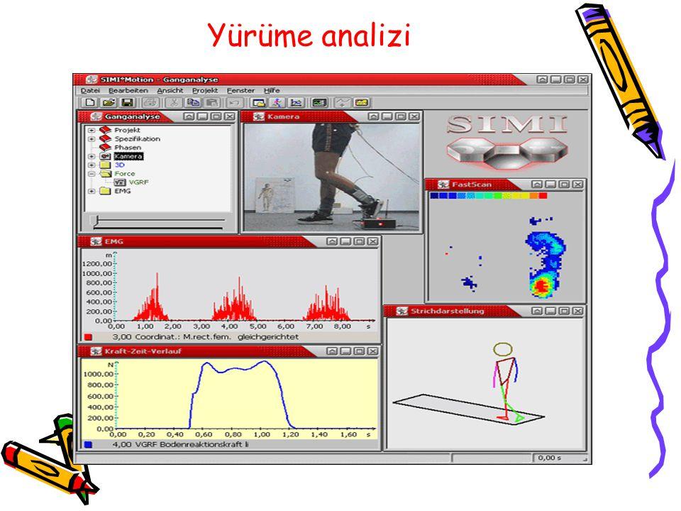 Yürüme analizi