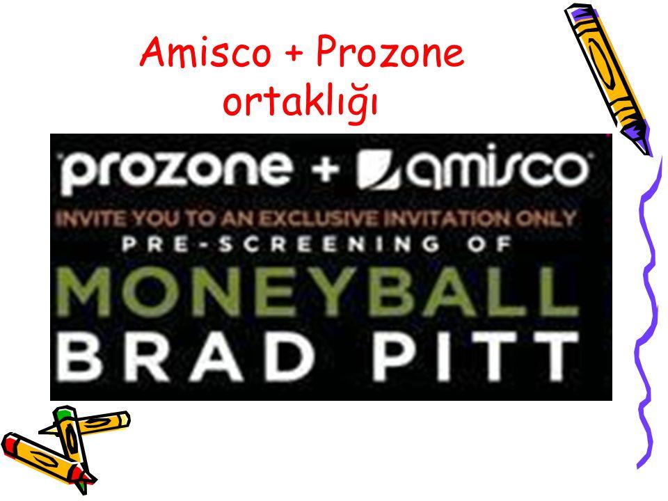 Amisco + Prozone ortaklığı