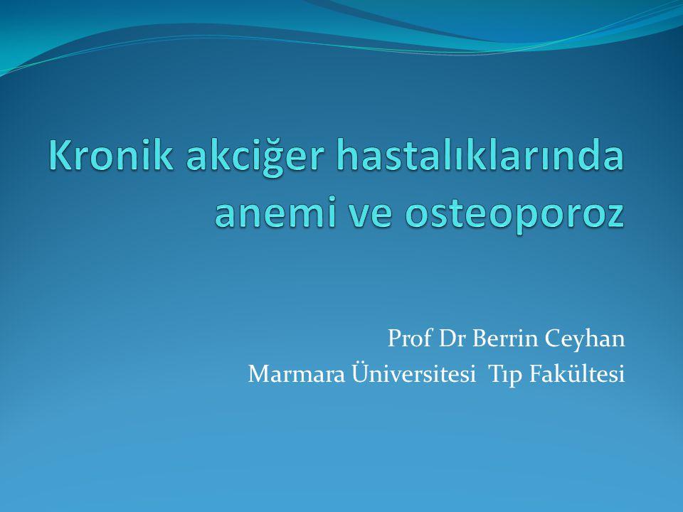 Osteoporoz risk faktörleri  Hipogonadism ve azalmış IGF  Östrojen kemik rezorpsiyon ve formasyonunu regüle eder  Testesteron kemik formasyonunu regüle eder  Yaşlanma düşük östrojen ve testeron seviyelerine neden olur  Steroid tedavisi ile LH, sirküle östrojen ve testeron seviyeleri düşer  IGF-1 osteoblastların differensiasyon ve proliferasyonunu stimüle eder