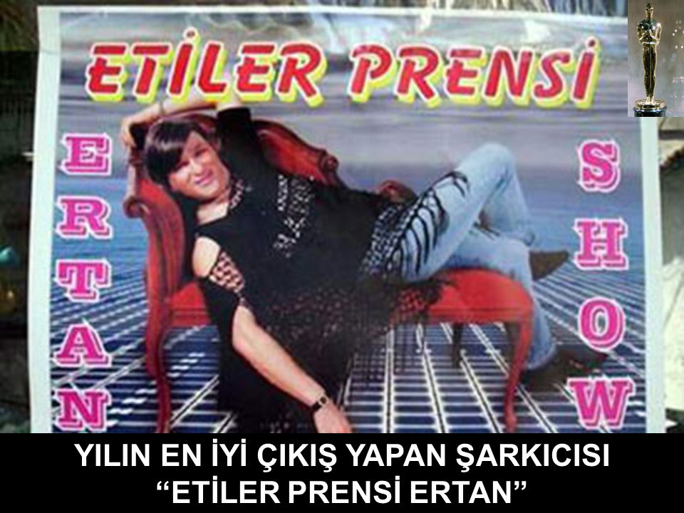 "MAHMUTPAŞA' DA YILIN KORSAN CD OSKARI ""İBNE KOVBOYLAR"""