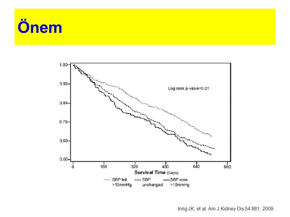 Önem Inrig JK, et al. Am J Kidney Dis 54:881, 2009.