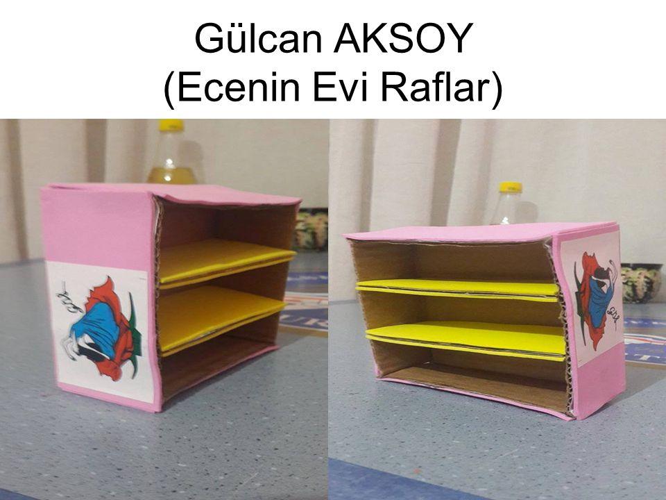 Gülcan AKSOY (Ecenin Evi Raflar)