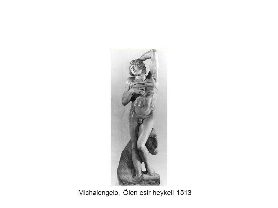 Michalengelo, Ölen esir heykeli 1513