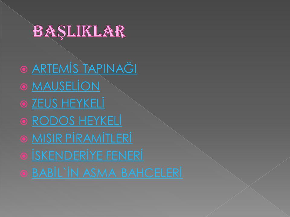 Artemis Tapınağı bugün İzmir kentine 50 km.