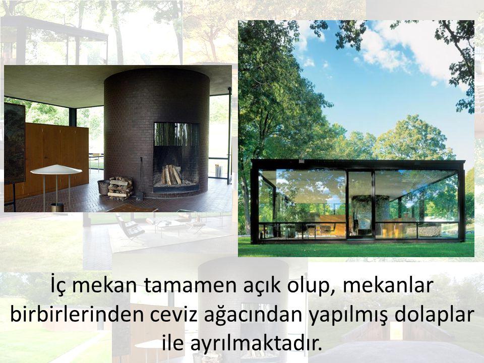 Ek olarak misafirleri için tasarladığı Misafir Evi (1949- 1950), Pavyon (1962), Resim Galerisi (1965), Heykel Galerisi (1970), Çalışma Odası (1980), Hayalet Evi (1982), Kirstein Kulesi (1985) ve Geçit Evi (Da Monsta, 1995) yer alır.