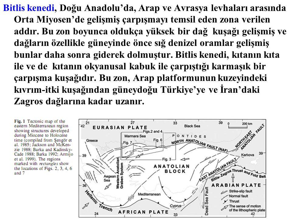 Bitlis kenedi, Doğu Anadolu'da, Arap ve Avrasya levhaları arasında Orta Miyosen'de gelişmiş çarpışmayı temsil eden zona verilen addır. Bu zon boyunca