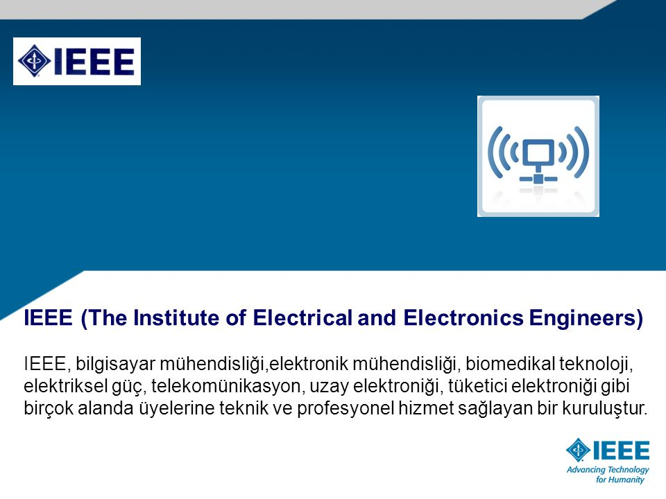 IEEE Transactions on Affective Computing IEEE Biometrics Compendium IEEE Magnetic Letters IEEE Transactions on Smart Grid IEEE Transactions on Sustainable Energy For a complete listing of titles, go to: http://ieeexplore.ieee.org/xpl/opacjrn.jsp http://ieeexplore.ieee.org/xpl/opacjrn.jsp 2010 Yılında 5 Yeni Dergi