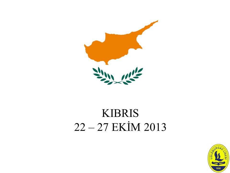 KIBRIS 22 – 27 EKİM 2013
