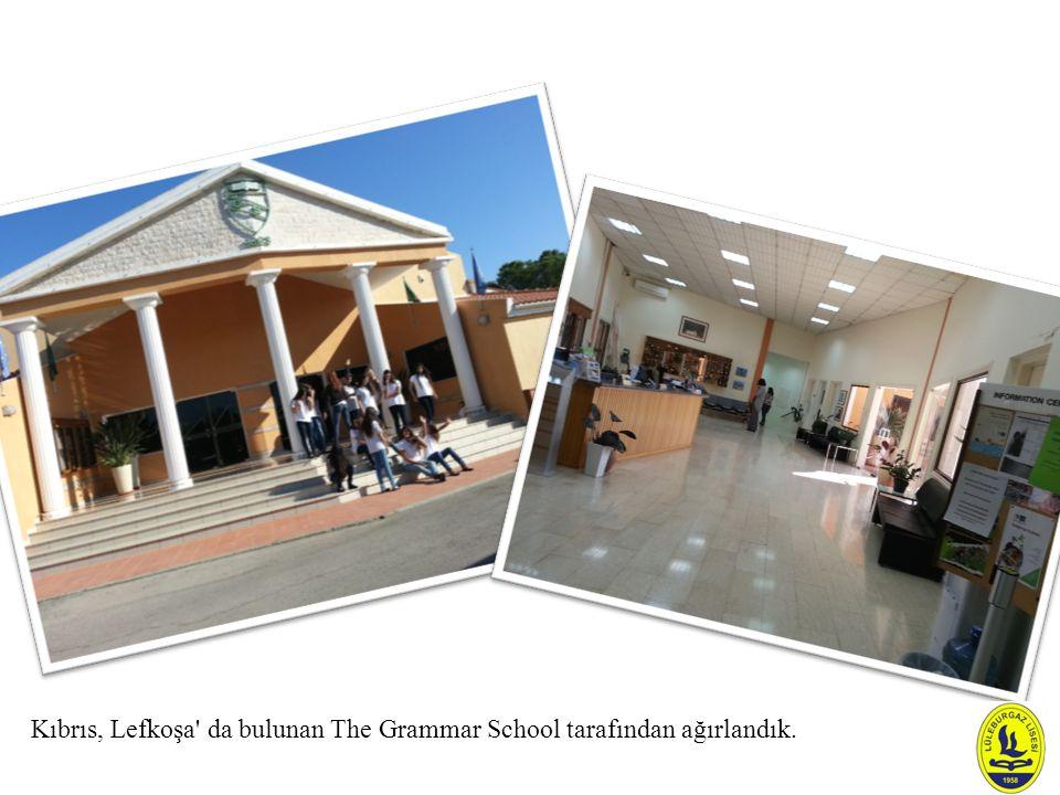 Kıbrıs, Lefkoşa da bulunan The Grammar School tarafından ağırlandık.