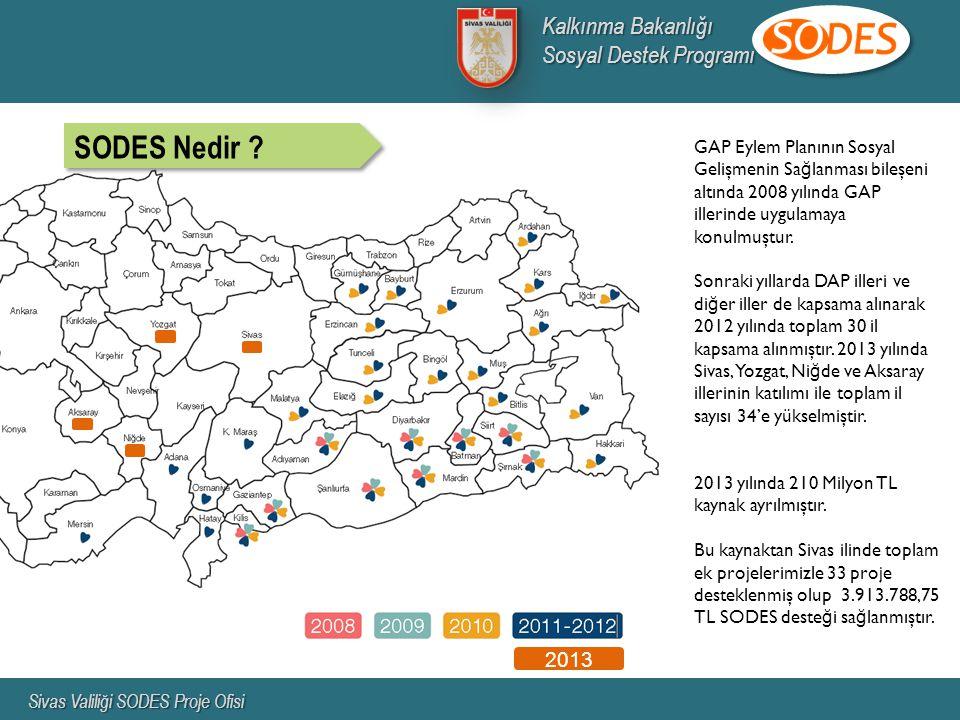 GAP Eylem Planının Sosyal Gelişmenin Sa ğ lanması bileşeni altında 2008 yılında GAP illerinde uygulamaya konulmuştur.