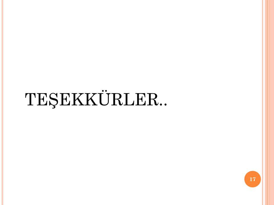 TEŞEKKÜRLER.. 17