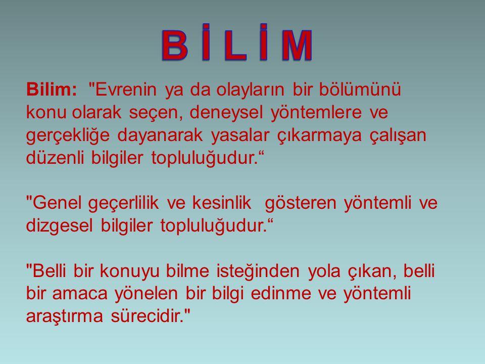 Bilim: