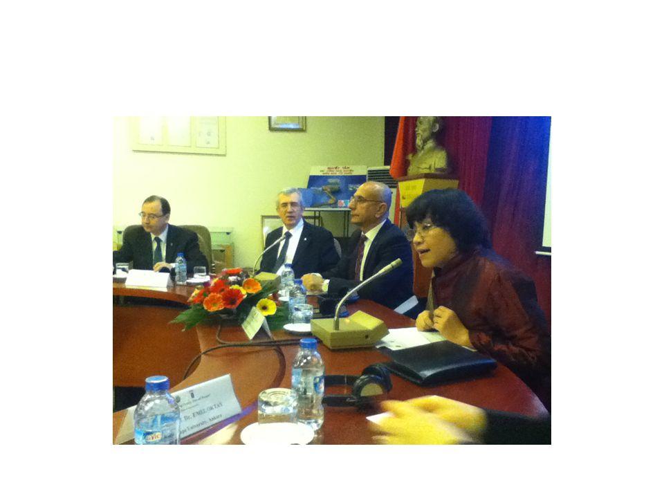 Hacettepe Üniversitesi'nin Vietnam'daki son temasları Rektör Yardımcısı Prof.