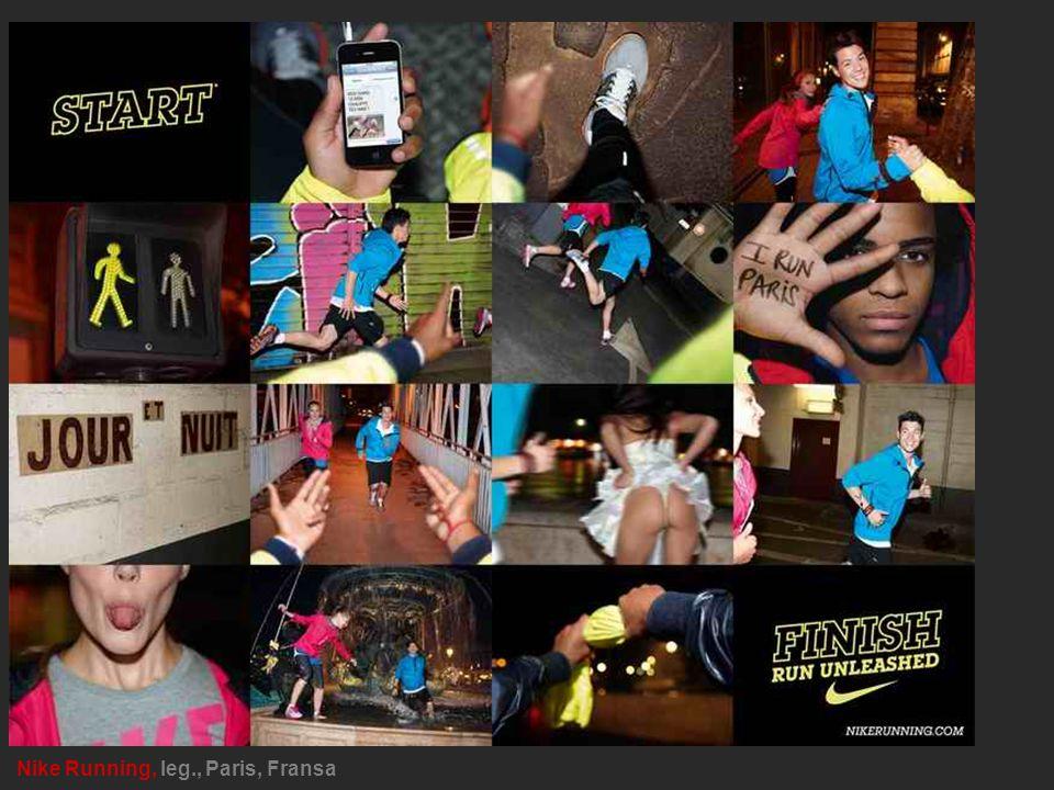 Nike Running, leg., Paris, Fransa