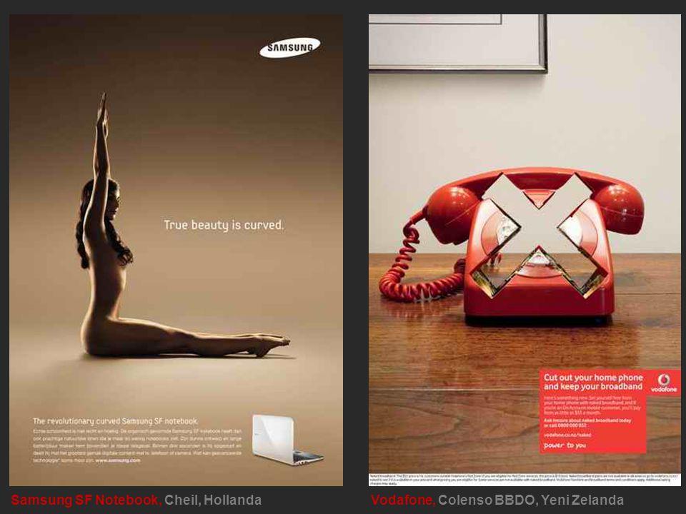 Samsung SF Notebook, Cheil, Hollanda Vodafone, Colenso BBDO, Yeni Zelanda