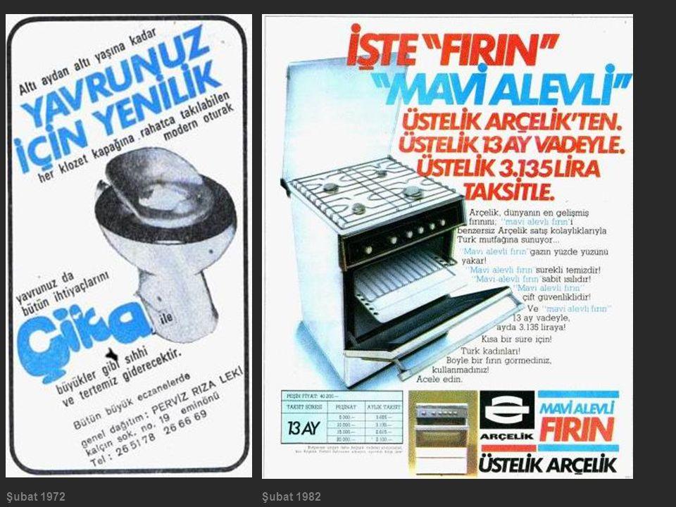 Şubat 1972 Şubat 1982