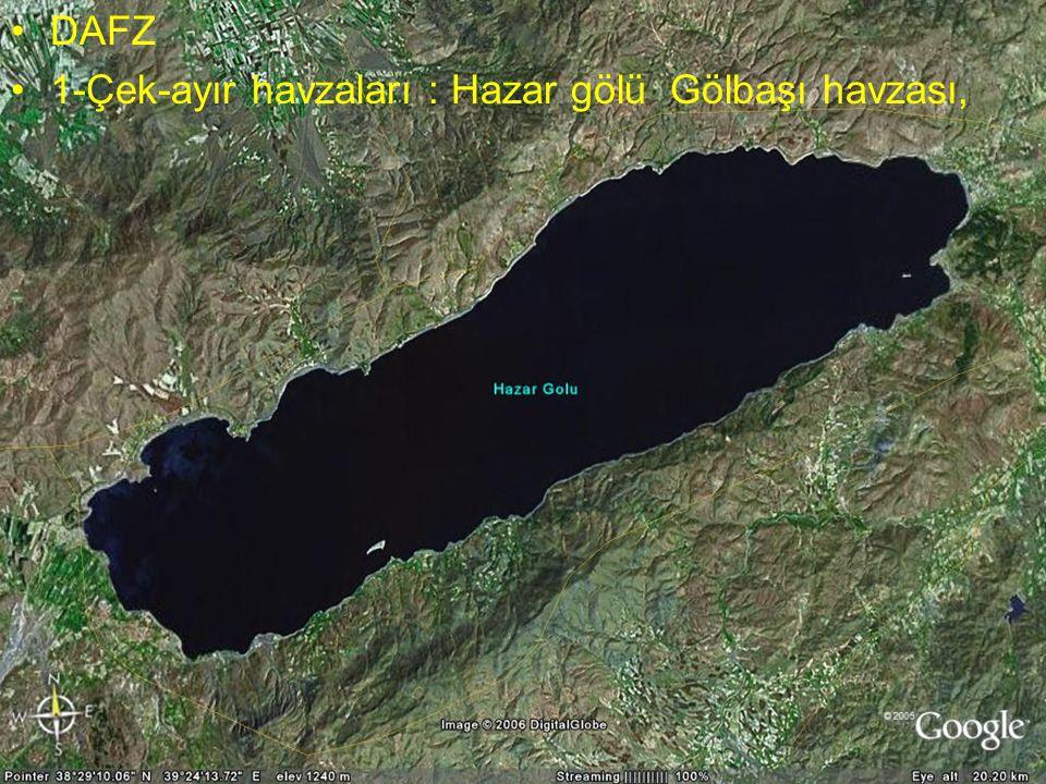 NEOTEKTONİK Doç.Dr. Yaşar EREN DAFZ 1-Çek-ayır havzaları : Hazar gölü Gölbaşı havzası,