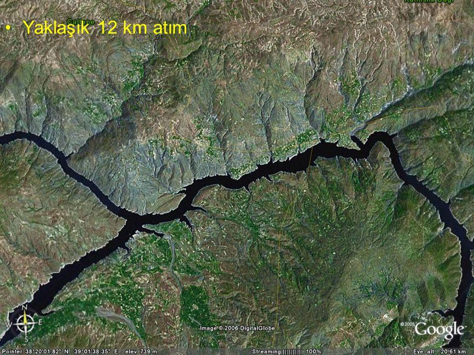 NEOTEKTONİK Doç.Dr. Yaşar EREN Yaklaşık 12 km atım