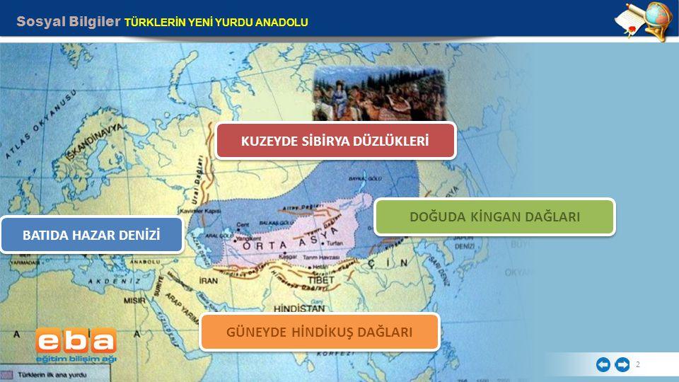 Sosyal Bilgiler TÜRKLERİN YENİ YURDU ANADOLU 3 Orta Asya'dan Türkleri Göçe Zorlayan Nedenler Nelerdir.