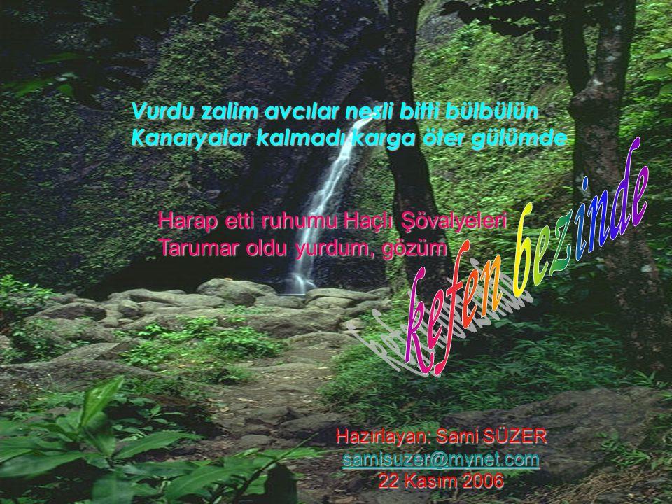 Nasrettin bile ağlar bırakmışta mizahı Hüzün bestesi yapar Akşehir'in gölünde Gökten yağmur yerine Mersiye yağar bana Türküleri unuttum hep ağıt var