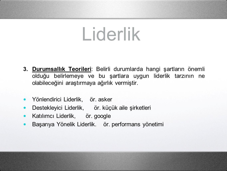 Liderlik 3.