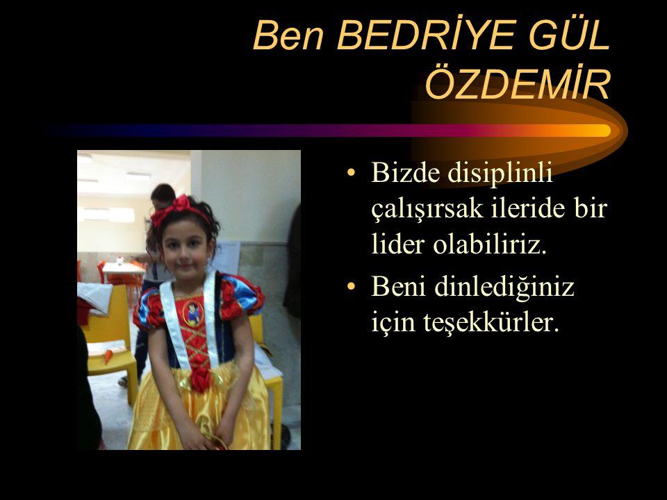 Sınıfımızın Lideri Fatma Balta Sınıf içinde başarılı olmak için liderimizin yani öğretmenimizin dediklerine uyarız.