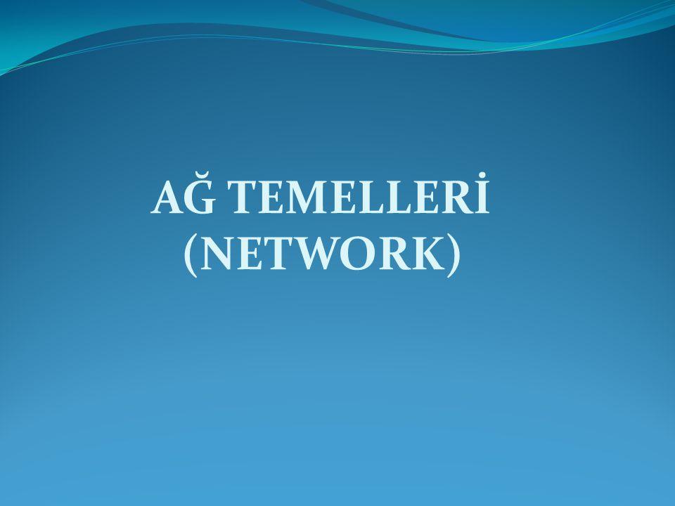 AĞ TEMELLERİ (NETWORK)